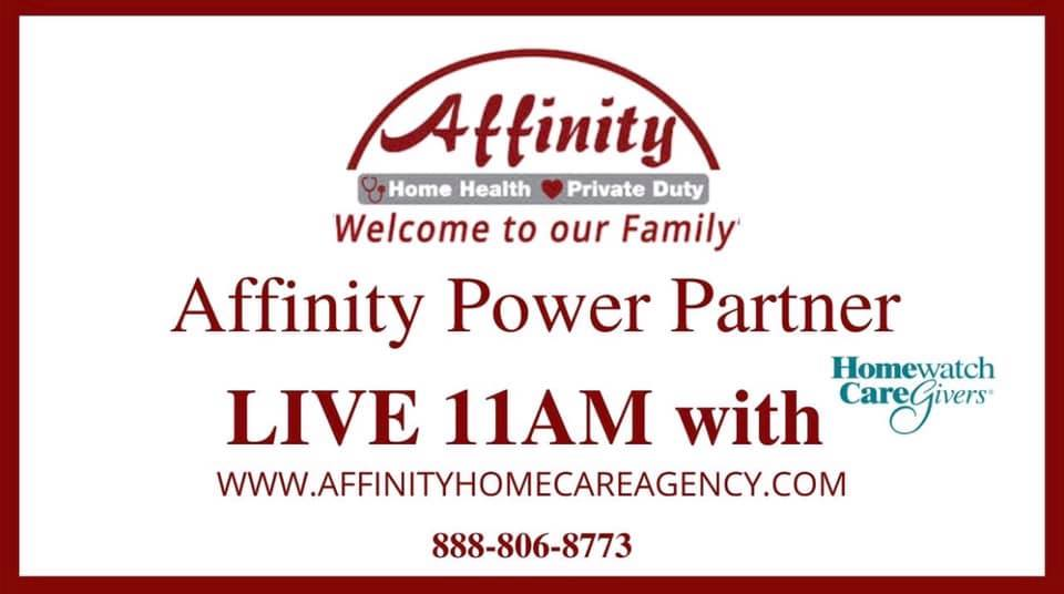Affinity Home Care LIVE with Homewatch Caregivers